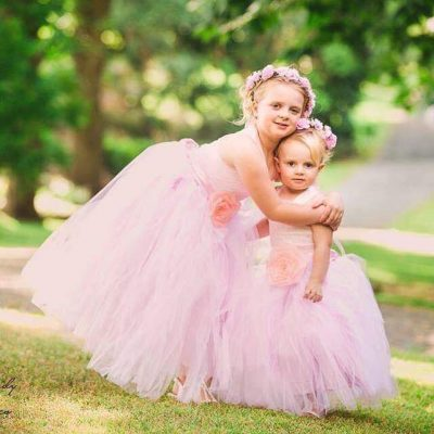 Coco Blush Boutique Flower Girl Dress Girls Special Occasion Dresses Custom Made Dresses